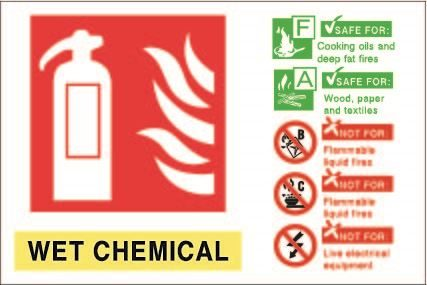 150mm x 100mm Wet Chemical ID