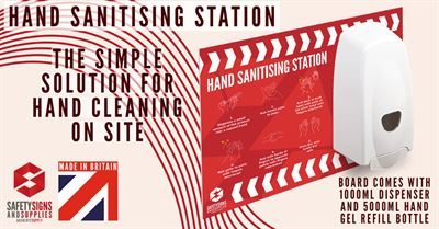Hand Sanitising Station - Available Now