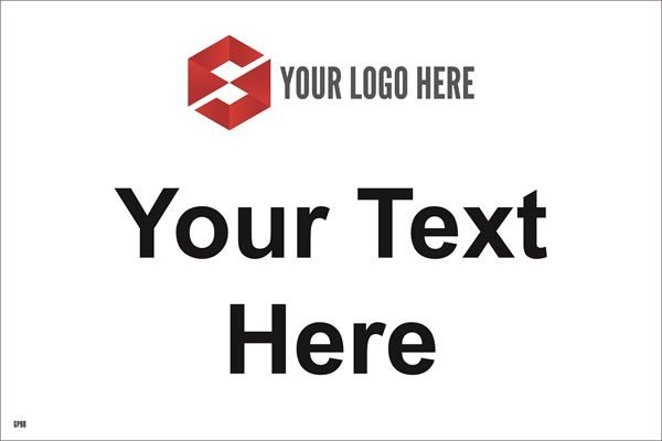 300mm x 200mm Your Text here