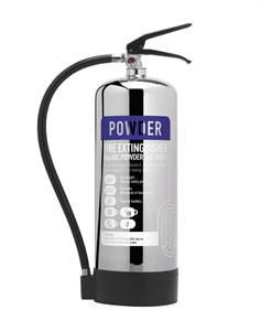 6KG Powder Stainless Steal Extinguisher