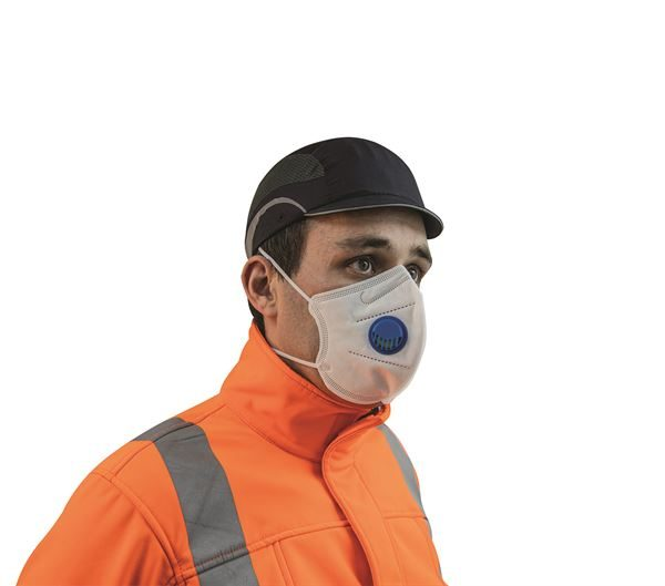Disposable Vertical Fold Flat Mask FFP3 (F632) - Box of 30