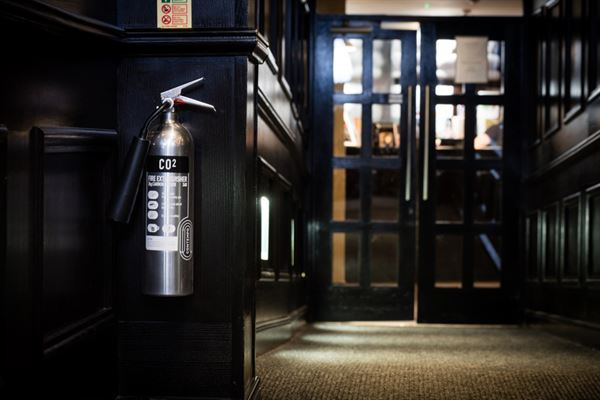 2KG Stainless Steal CO2 Extinguisher