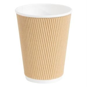 Box of 500 12OZ Twin Wall Paper Cups