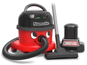 Numatic NBV240NX Cordless Vacuum Comes complete with 1 Battery and Charger