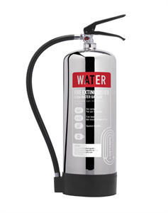 6 Litre Water Extinguisher Stainless
