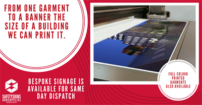 Bespoke Printing - From your hi viz to banners