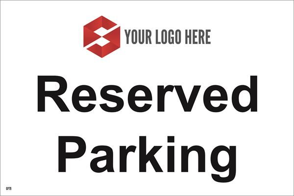 300mm x 200mm Reserved Parking