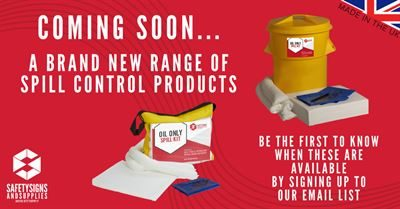 Our Brand new Range of Sustainable and Made in the UK Spill Response Equipment Now Available