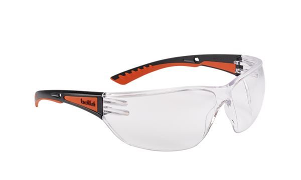 BOLLE SLAM+ CLEAR SAFETY GOGGLES