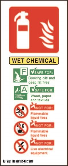 82mm x 202mm Wet Chemical ID