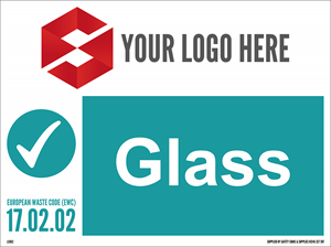 600MM X 450MM Glass Waste